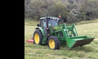 105HP John Deere Tractor with GPS 1