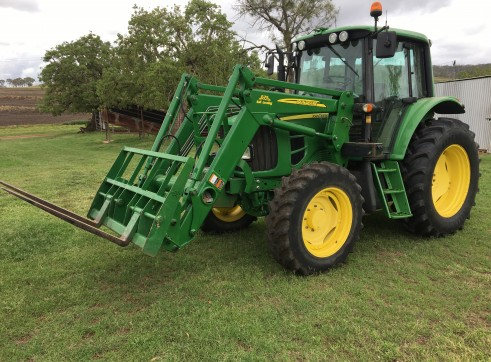 105HP 6330 Premium Tractor with Slasher 4