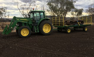 105HP 6330 Premium Tractor with Slasher 1