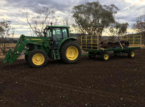 105HP 6330 Premium Tractor with Slasher 7