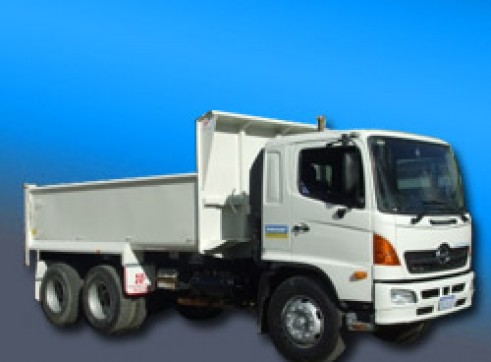 10M Tip Truck - Manual and Auto Available