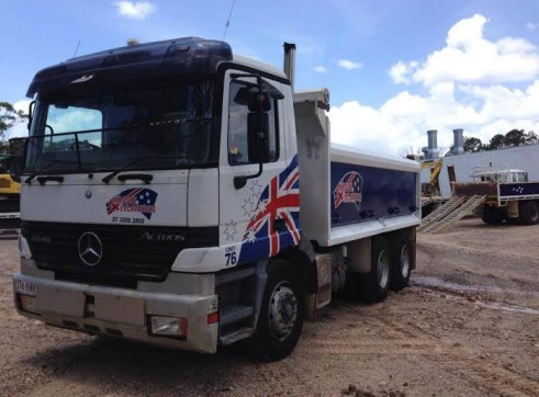 10m Tipper Truck