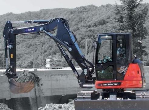 10T ECM ES100TR Excavator 1
