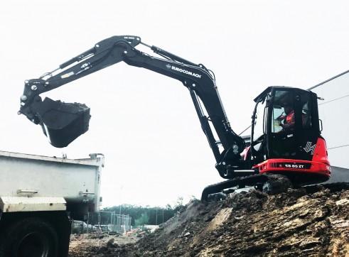 9T Eurocomach ES85ZT Mini Excavator 2