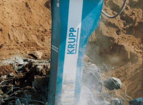 10T HB 10,000 Krupp Rock Breaker 1