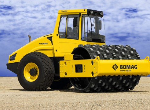 10T Padfoot Vibrating Single Drum Roller