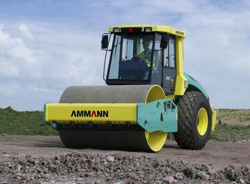 11.5T Ammann ASC 110D Vibratory Smooth Drum Roller 2