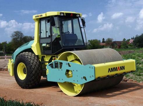 11.5T Ammann ASC 110D Vibratory Smooth Drum Roller 1