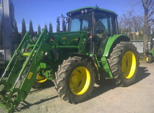 110HP John Deere 6420 Premium Tractor with Cabin & Loader 2