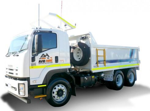 11m3 Mine Spec Tipper Truck 1