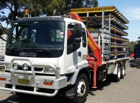 11T Crane Truck 1