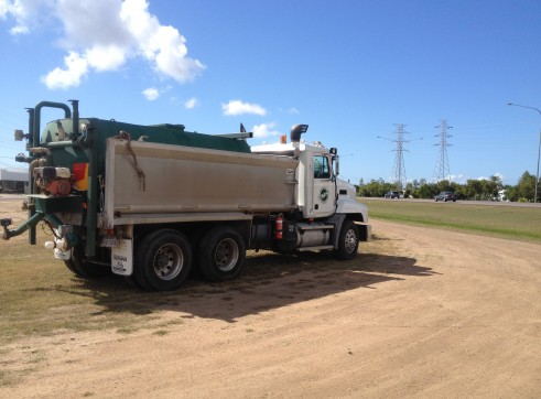 12,000L Water Cart for wet hire 1