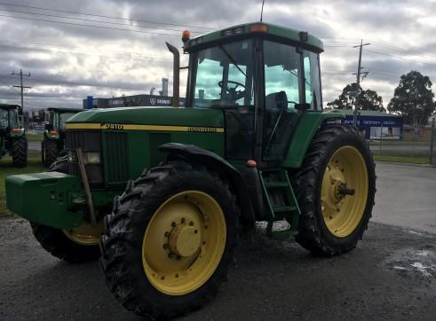 120HP John Deere 7410 Tractor 2