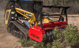 120HP Posi-Track with Forestry Mulcher 1