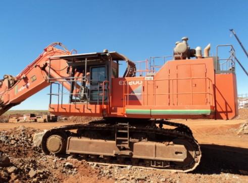 120T Hitachi Ex1200 Excavator 1