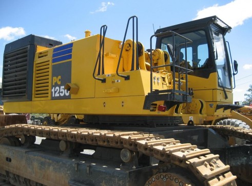120T Komatsu PC1250 Excavator
