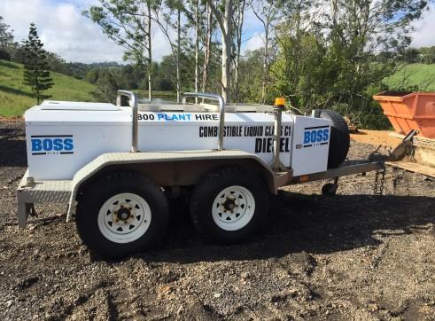 1250Ltr Diesel Fuel Trailer 2
