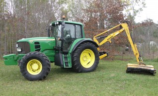 125HP John Deere 6530 Premium Tractor with McConnell Reach Mower 1