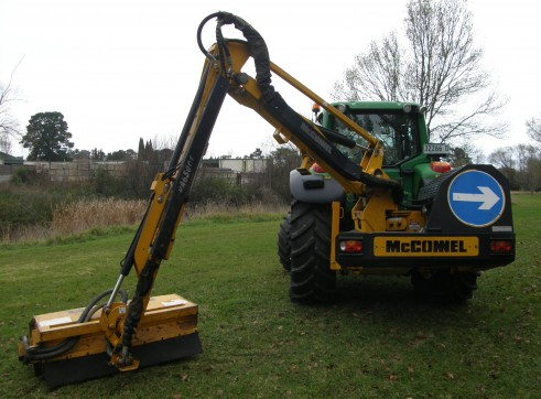125HP John Deere 6530 Premium Tractor with McConnell Reach Mower 2