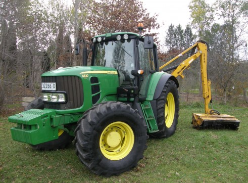 125HP John Deere 6530 Premium Tractor with McConnell Reach Mower 3
