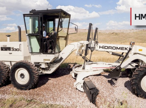 12FT Hidromek HMK 330 Motor Grader 1