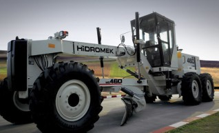 12FT Hidromek HMK 460 Motor Grader 1