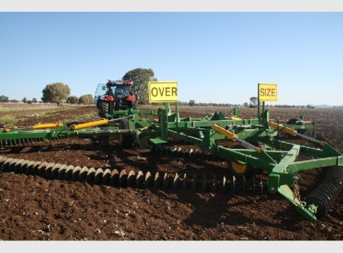 12m (40ft) Kelly Diamond Disc Chain Harrows 5