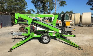 12m Nifty Lift Cherry Picker Trailer 1