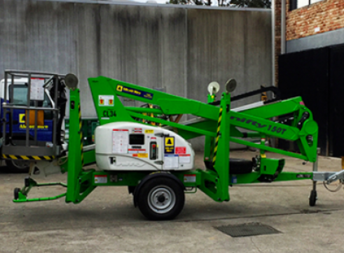 12m Towable Cherry Picker 1