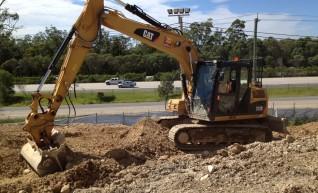 12T Cat 312D Excavator - Full Mine Spec & GPS 1