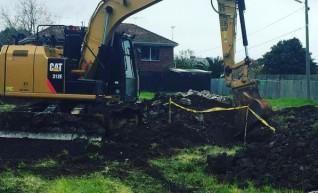 12T Caterpillar Excavator  1