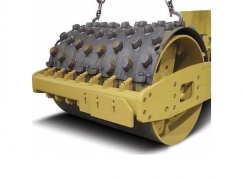 12T Caterpillar Padfoot Single Drum Roller 2