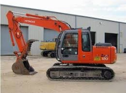 12T Tracked Excavators