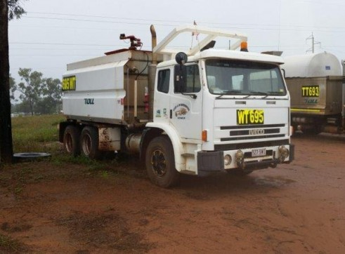 13,000L Body Water Truck 1