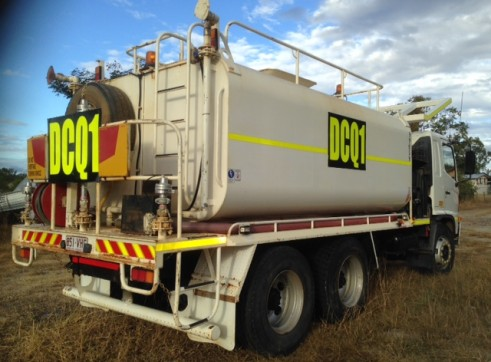 13,000L Water Truck 2