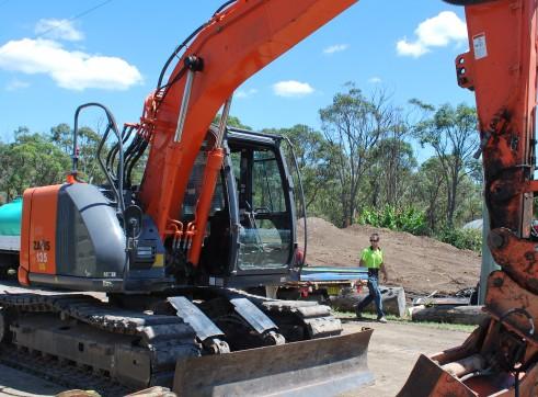 13.5T Hitachi ZX135US Excavator