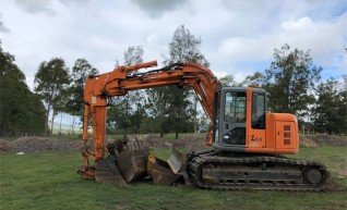 13.5T Zero Swing Knuckle Boom Excavator  1