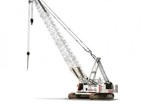 130T Liebherr LR1130 Crawler Crane 3