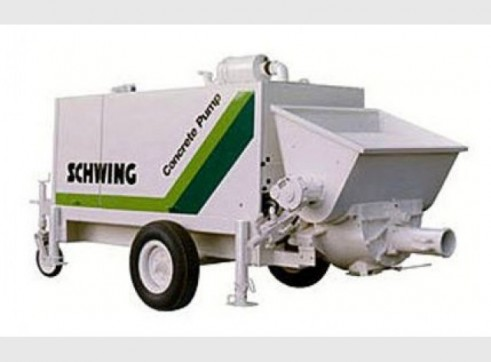 132kw Trailer Mounted Concrete Pump 1