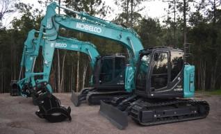13.5T Kobleco SK135SR Excavator 1