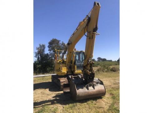 13.5T Komatsu PC138USLC-8 Zero Swing Excavator 2