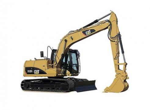 13t Caterpillar 312DL-3 Excavator with a/c cab