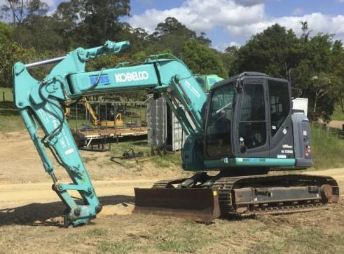 13T Kobelco Excavator w/ROPS & FOPS