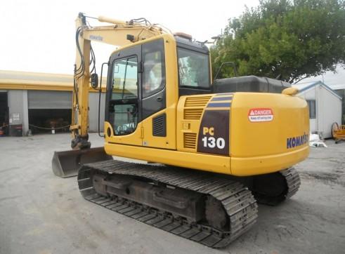 13T Komatsu PC130-8 Excavator