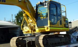 13T Komatsu PC130-8 excavator WET/DRY Hire, BMA MINE SPEC 1