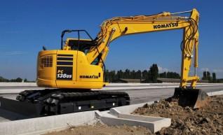 13T Komatsu PC138US Zero Swing Excavator 1