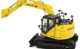 13T Sumitomo SH135 Zero /Knuckle Boom Excavator 1