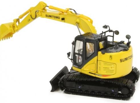 13T Sumitomo SH135 Zero /Knuckle Boom Excavator