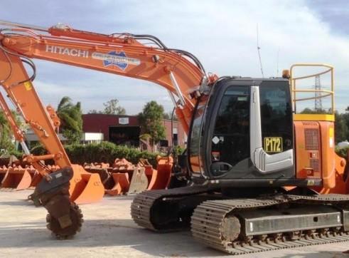 13T Tracked Excavator Zero Slew