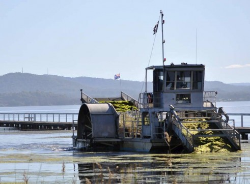 14 m Weed Algae and Wrack Harvester 1
